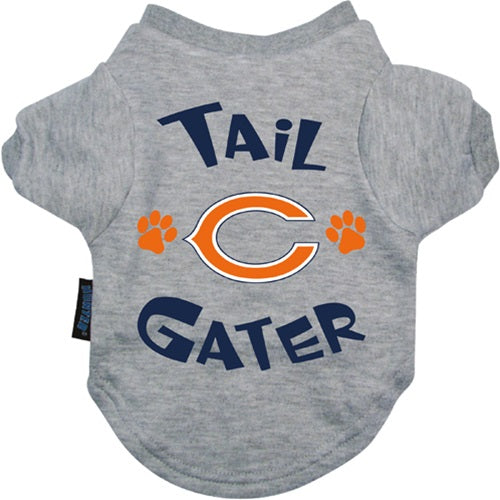 Chicago Bears Tail Gater Pet Dog Tee Shirt by Hunter