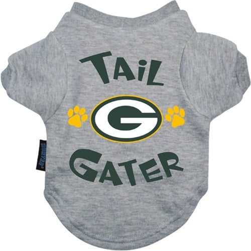 Green Bay Packers Tail Gater Pet Dog Tee Shirt by Hunter
