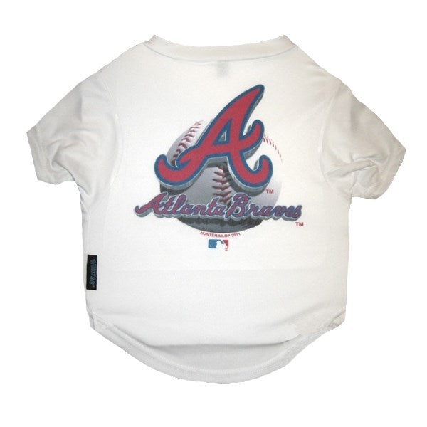 Atlanta Braves Performance Pet Dog Tee Shirt by Hunter