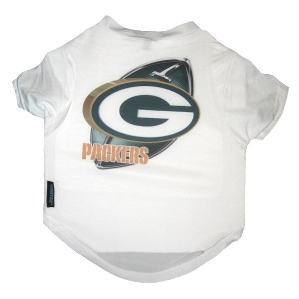 Green Bay Packers Performance Pet Dog Tee Shirt by Hunter