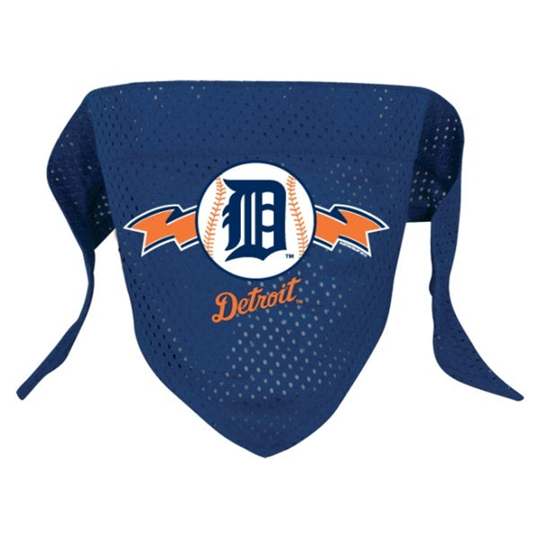 Detroit Tigers Mesh Pet Dog Bandana by Hunter