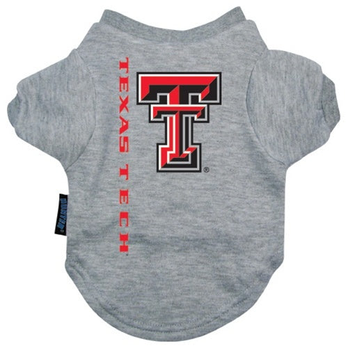 Texas Tech Red Raiders Pet Dog Tee Shirt by Hunter