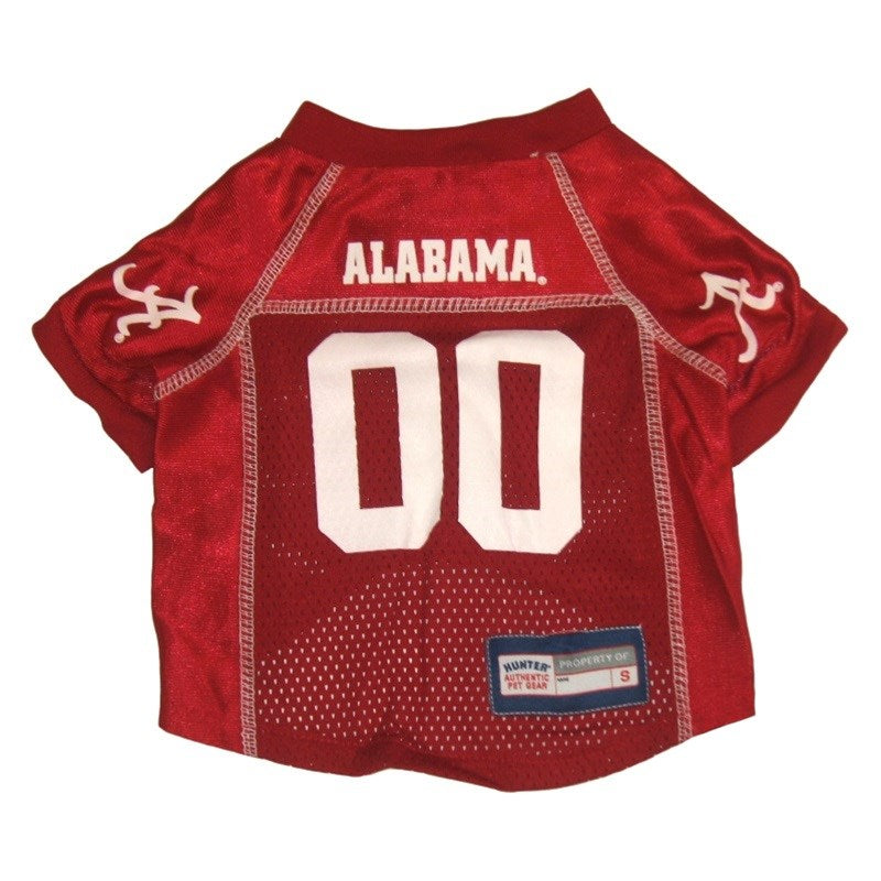 Alabama Crimson Tide Pet Dog Mesh Jersey by Hunter
