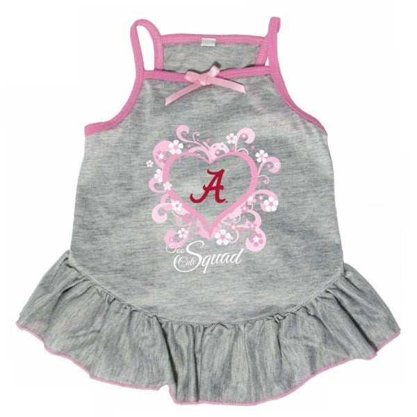 "Alabama Crimson Tide ""Too Cute Squad"" Pet Dog Dress by Hunter"