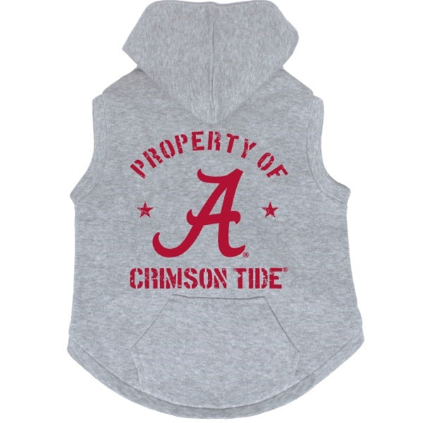 Alabama Crimson Tide Pet Dog Hoodie Sweatshirt by Hunter