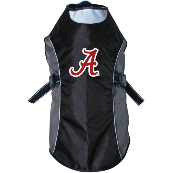 Alabama Crimson Tide Water Resistant Reflective Pet Dog Jacket by Hunter