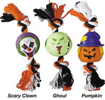 Halloween Rope & Vinyl Pet Dog Toys by Pet Edge