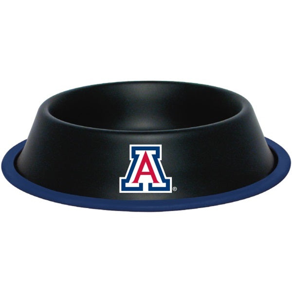 Arizona WildPet Cats Gloss Black Pet Bowl by Hunter