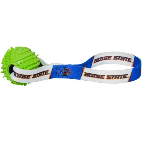 Boise State Broncos Rubber Ball Toss Pet Dog Toy by Hunter