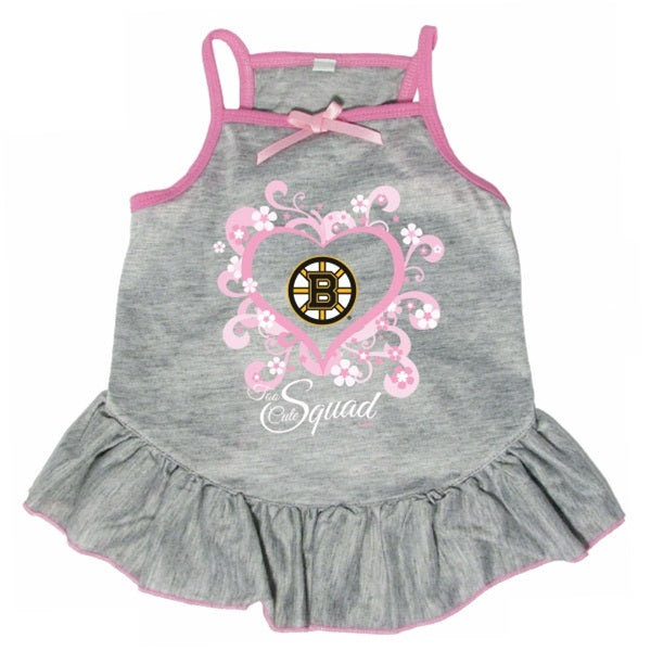 Boston Bruins Quot Too Cute Squad Quot Pet Dog Dress By Hunter