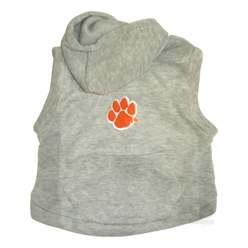Clemson Tigers Pet Dog Hoodie Sweatshirt by Hunter