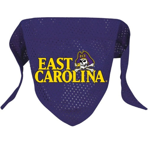 East Carolina Pirates Pirates Pirates Pet Dog Mesh Bandana by Hunter