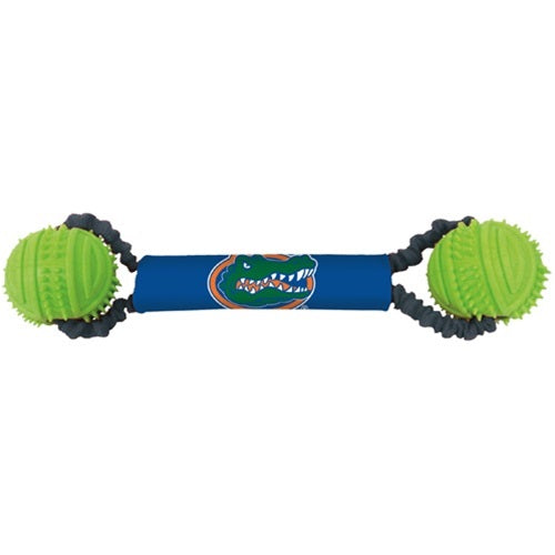 Florida Gators Double Bungee Tug-N-Toss Pet Dog Toy by Hunter