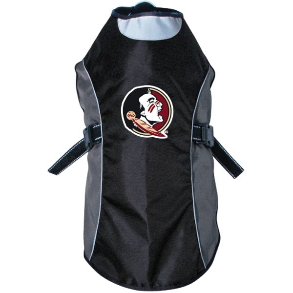 Florida State Seminoles Seminoles Water Resistant Reflective Pet Dog Jacket by Hunter