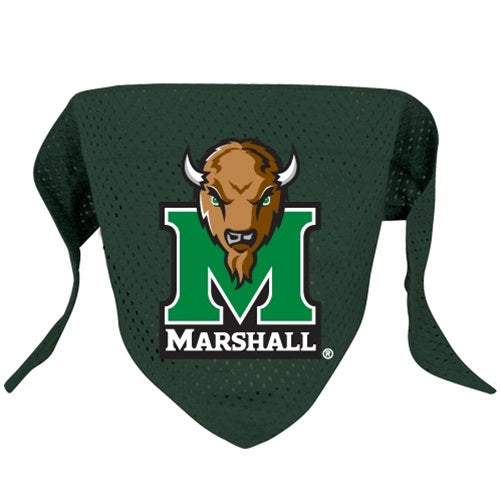 Marshall Thundering Herd Pet Dog Mesh Bandana by Hunter