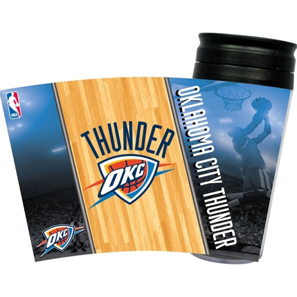 Oklahoma City Thunder Acrylic Tumbler Lid Pet Dog by Hunter