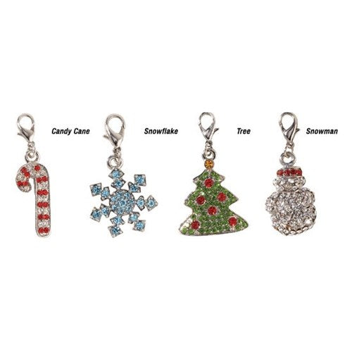 Holiday Jewel Pet Dog Collar Charms by Pet Edge