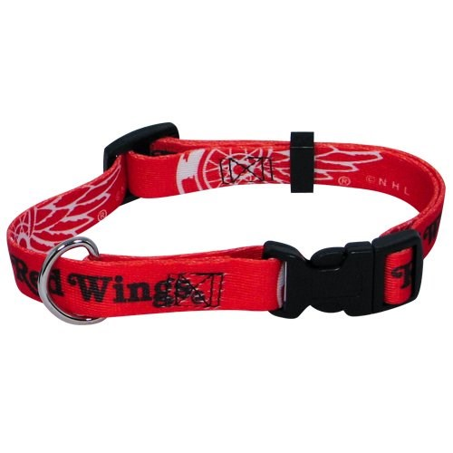 Detroit Red Wings Pet Dog Collar by Hunter