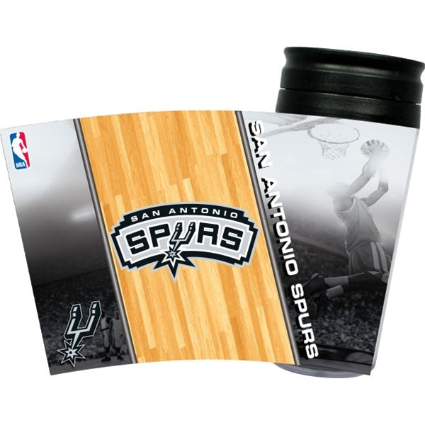 San Antonio Spurs Acrylic Tumbler Lid Pet Dog by Hunter