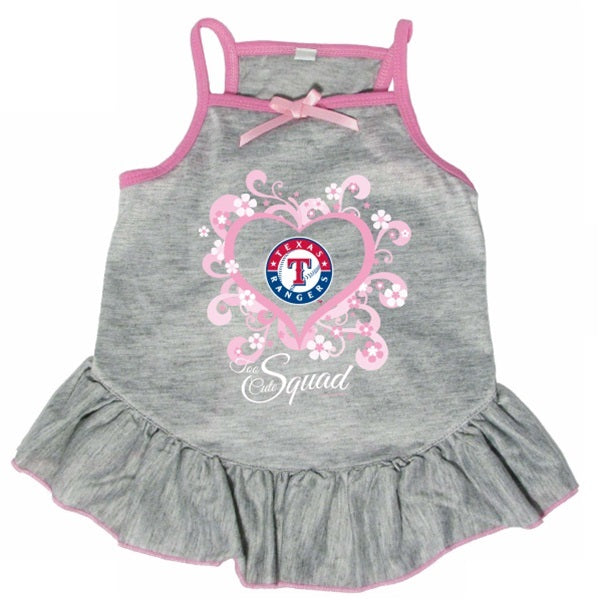 "Texas Rangers ""Too Cute Squad"" Pet Dog Dress by Hunter"