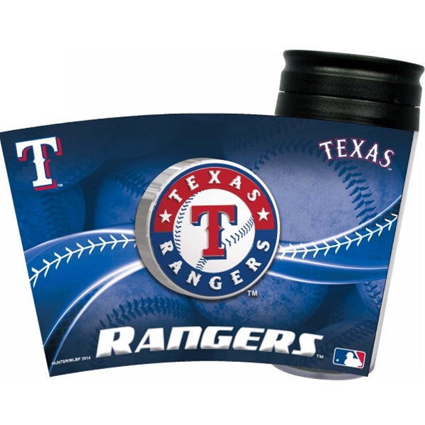 Texas Rangers Acrylic Tumbler Lid Pet Dog by Hunter