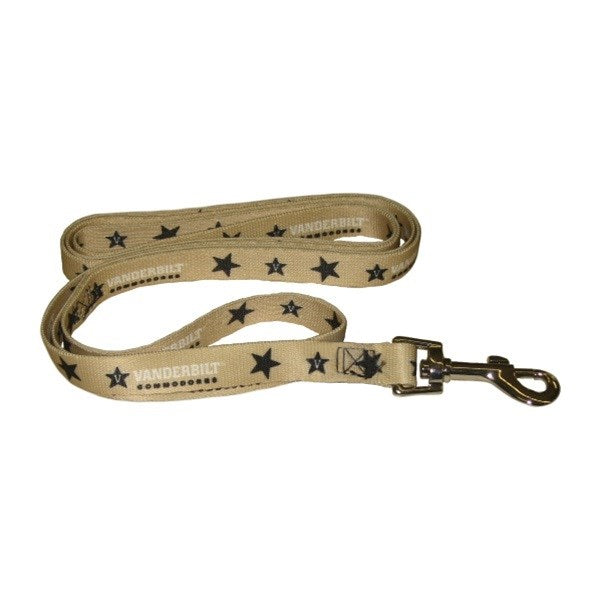 Vanderbilt Commodores Pet Dog Leash by Hunter