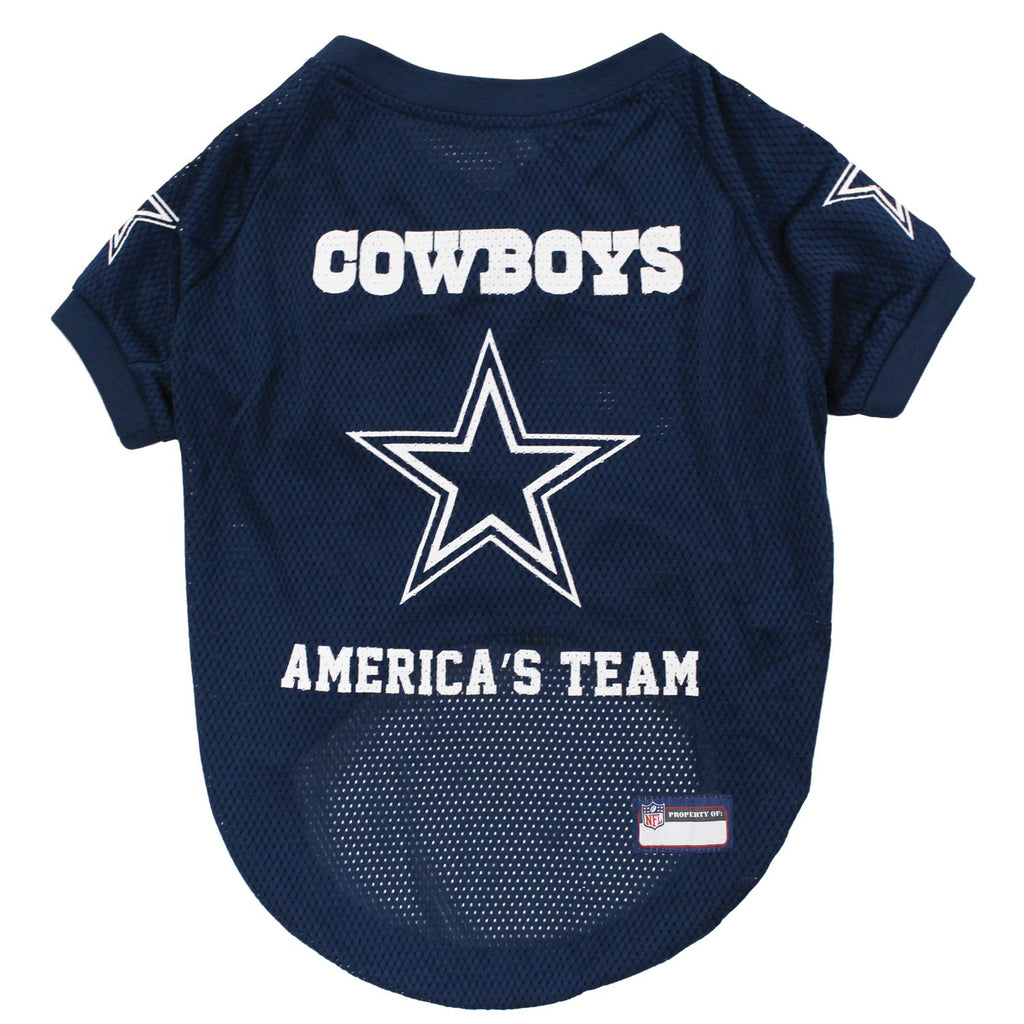 Dallas Cowboys America's Team Pet Dog Jersey by Pets First