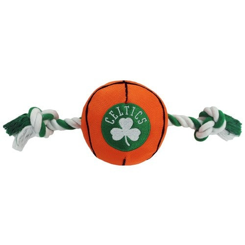 Boston Celtics Pet Dog Nylon Basketball Toy by Pets First
