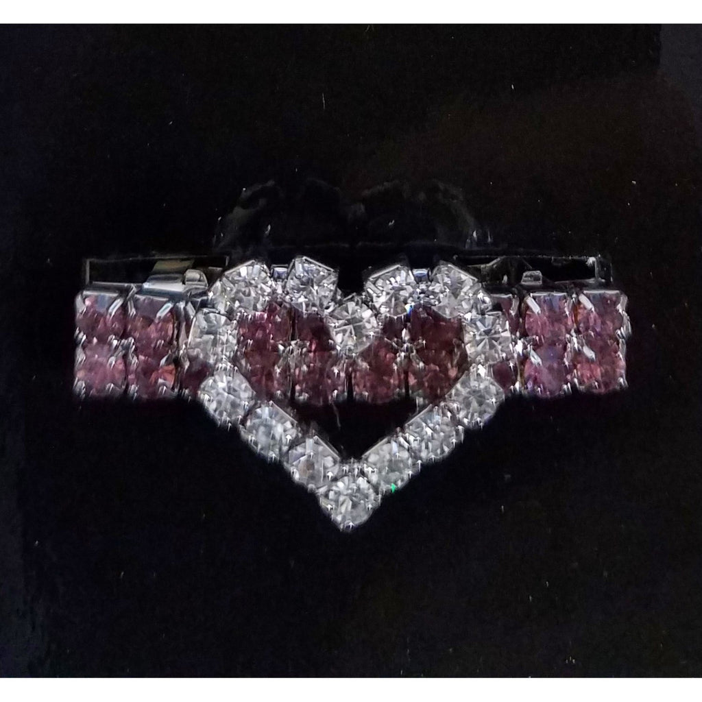 Aria Jewel Of My Heart Pet Dog Barrette by Pet Edge