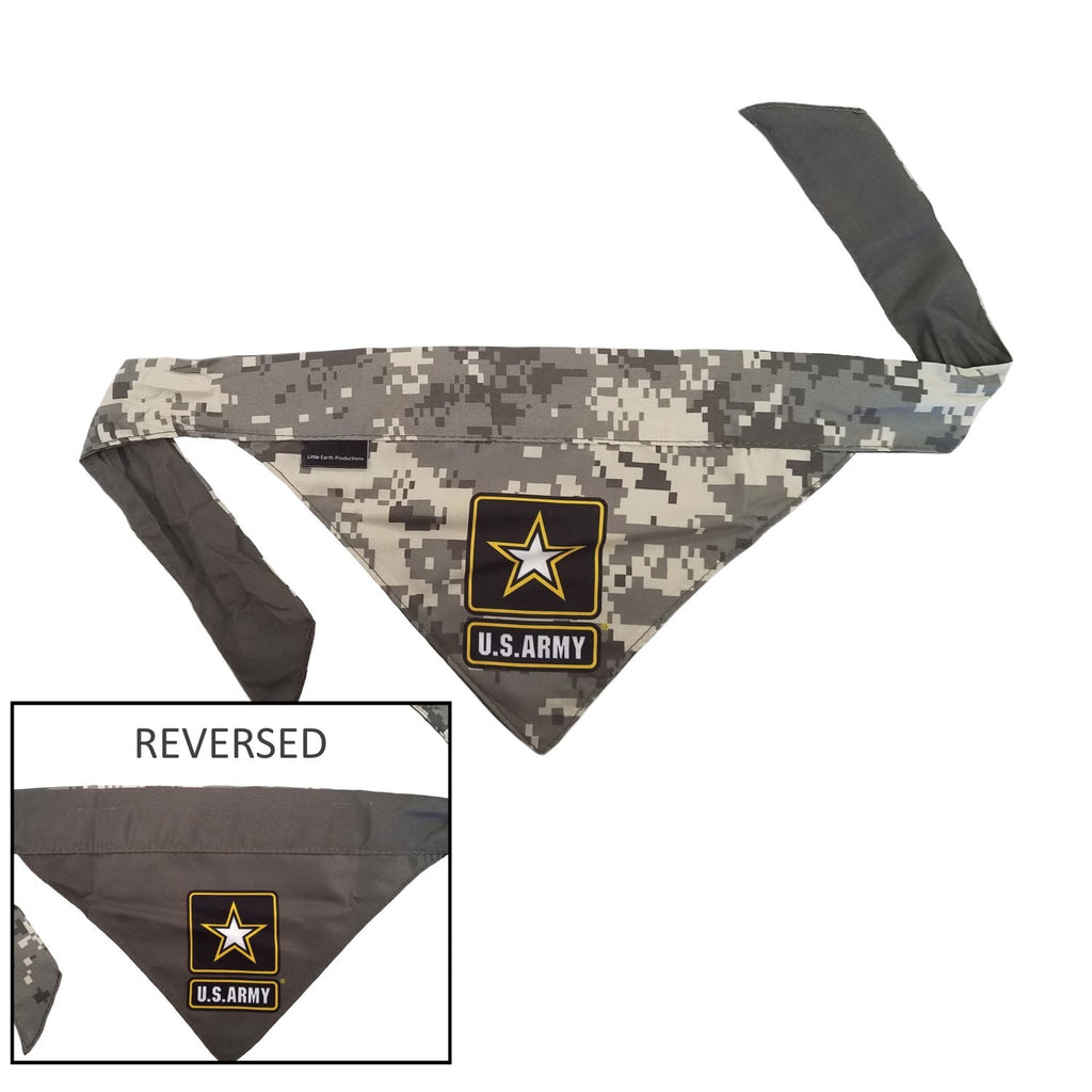 US Army Pet Dog Reversible Bandana by Little Earth