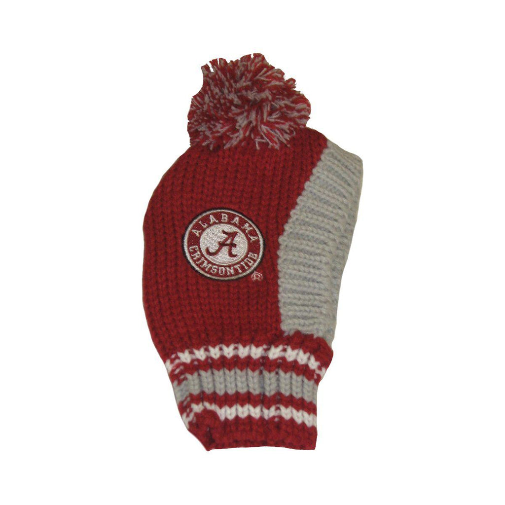 Alabama Crimson Tide Pet Dog Knit Hat by Little Earth