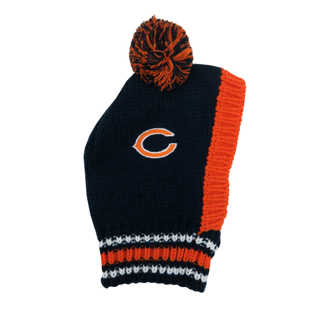 Chicago Bears Pet Dog Knit Hat by Little Earth