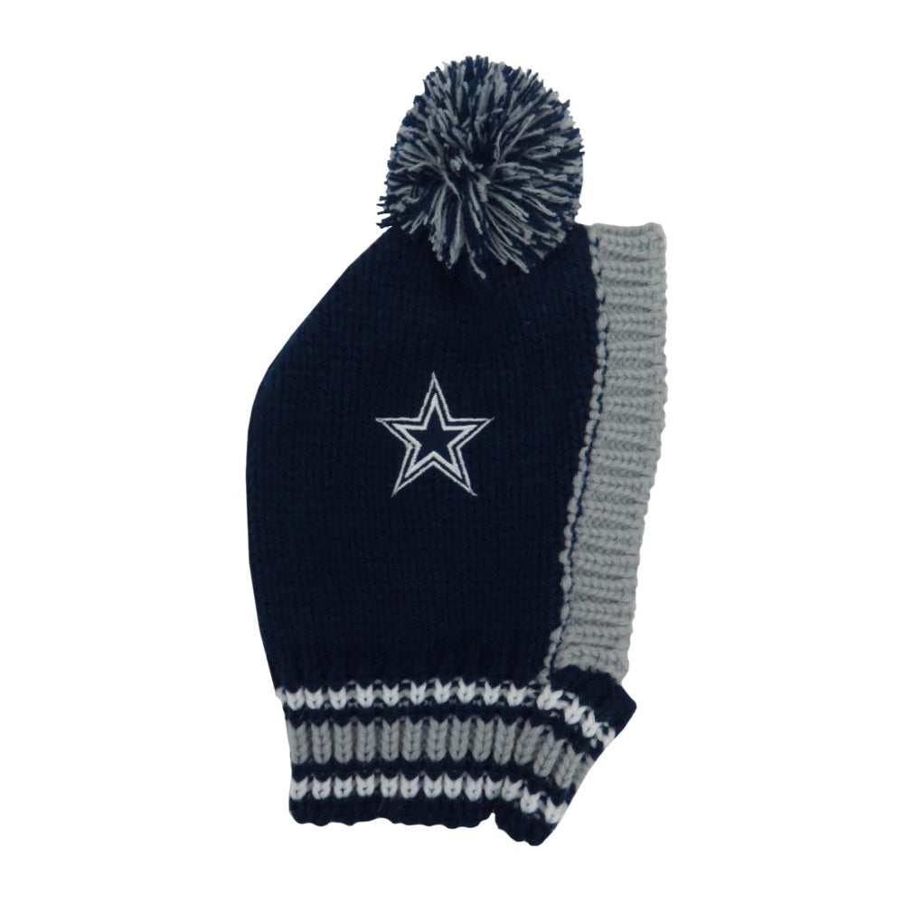 Dallas Cowboys Pet Dog Knit Hat by Little Earth