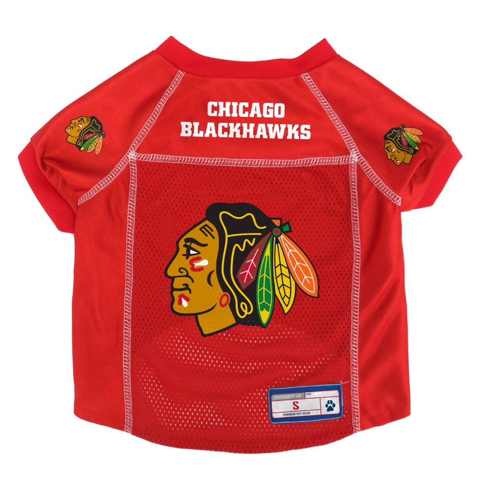 Chicago Blackhawks Pet Dog Mesh Jersey by Little Earth