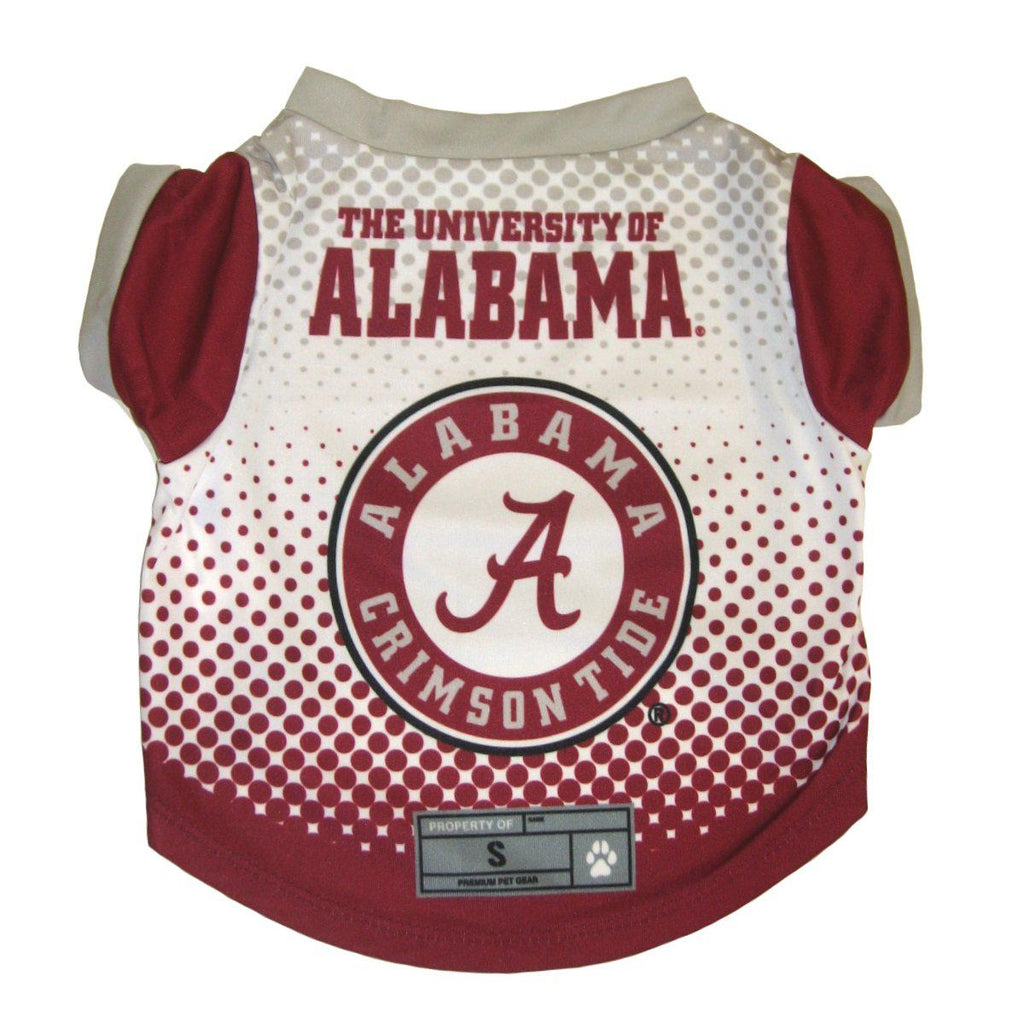 Alabama Crimson Tide Pet Dog Performance Tee by Little Earth