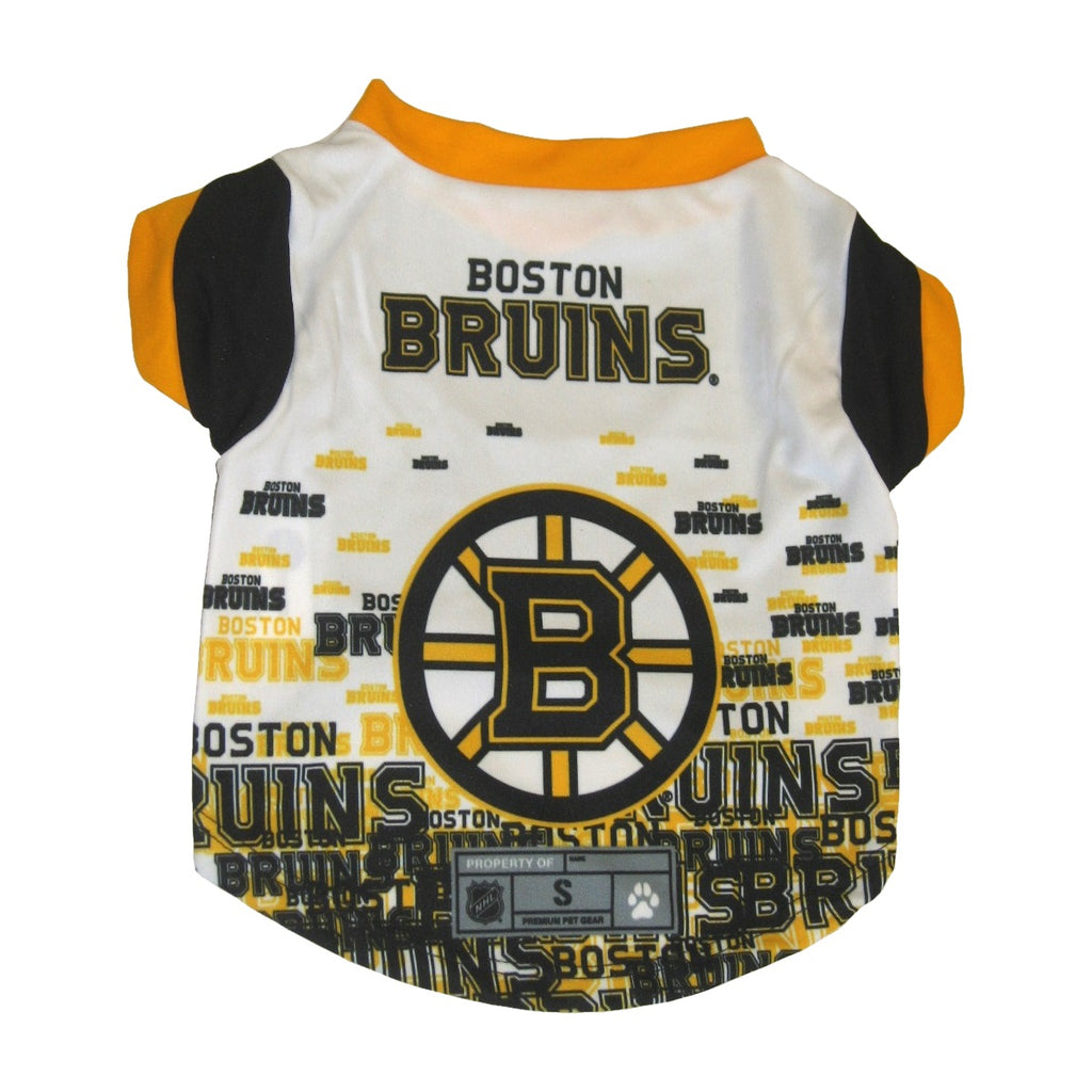 Boston Bruins Pet Dog Performance Tee by Little Earth
