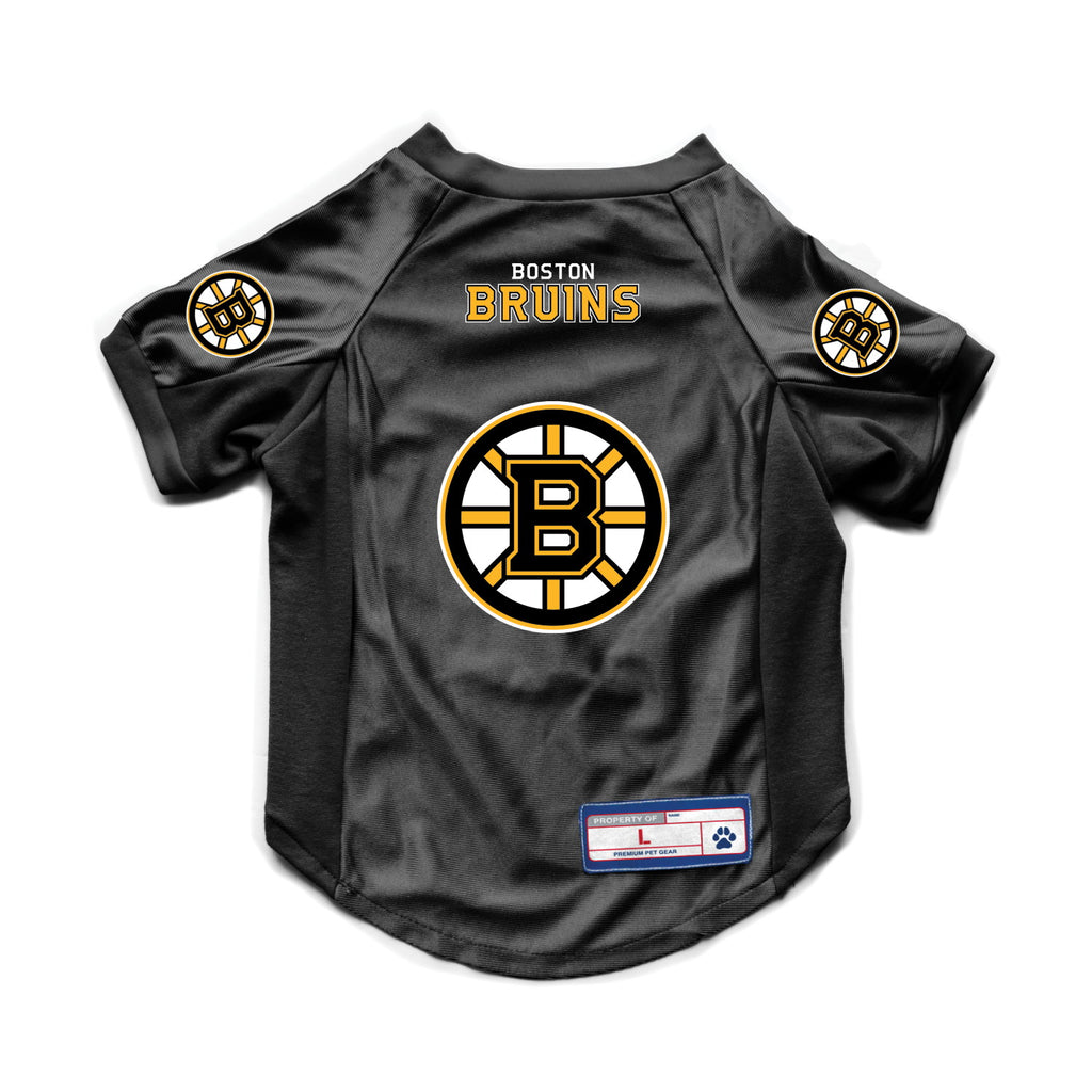 Boston Bruins Pet Dog Stretch Jersey by Little Earth