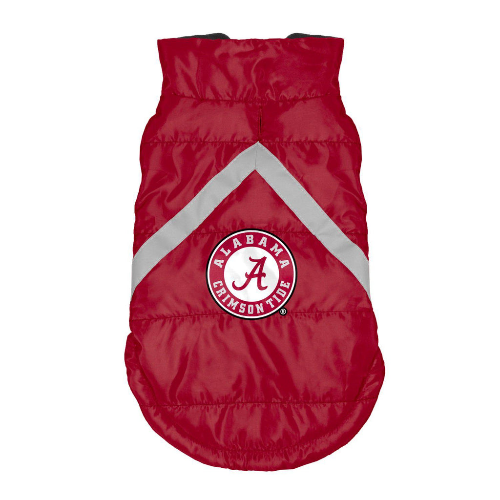 Alabama Crimson Tide Pet Dog Puffer Vest by Little Earth