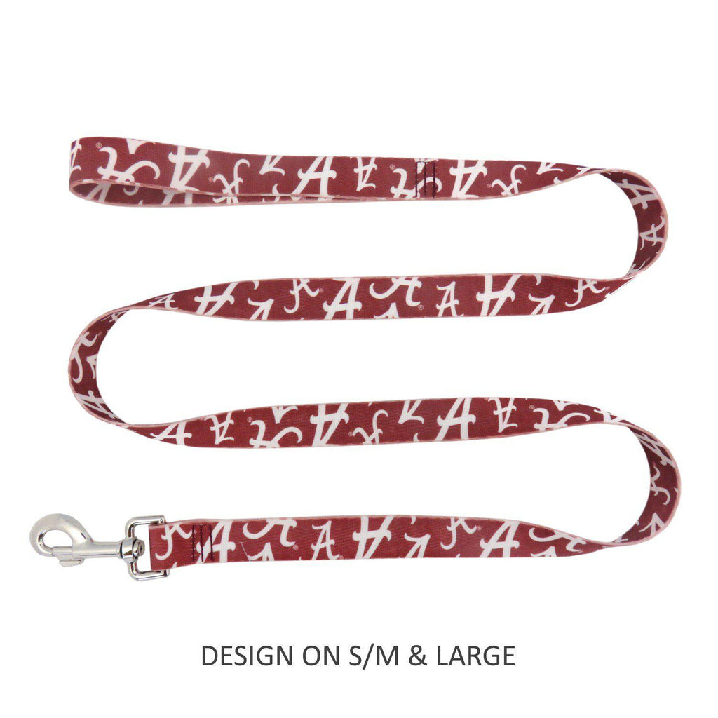 Alabama Crimson Tide Pet Dog Nylon Leash by Little Earth