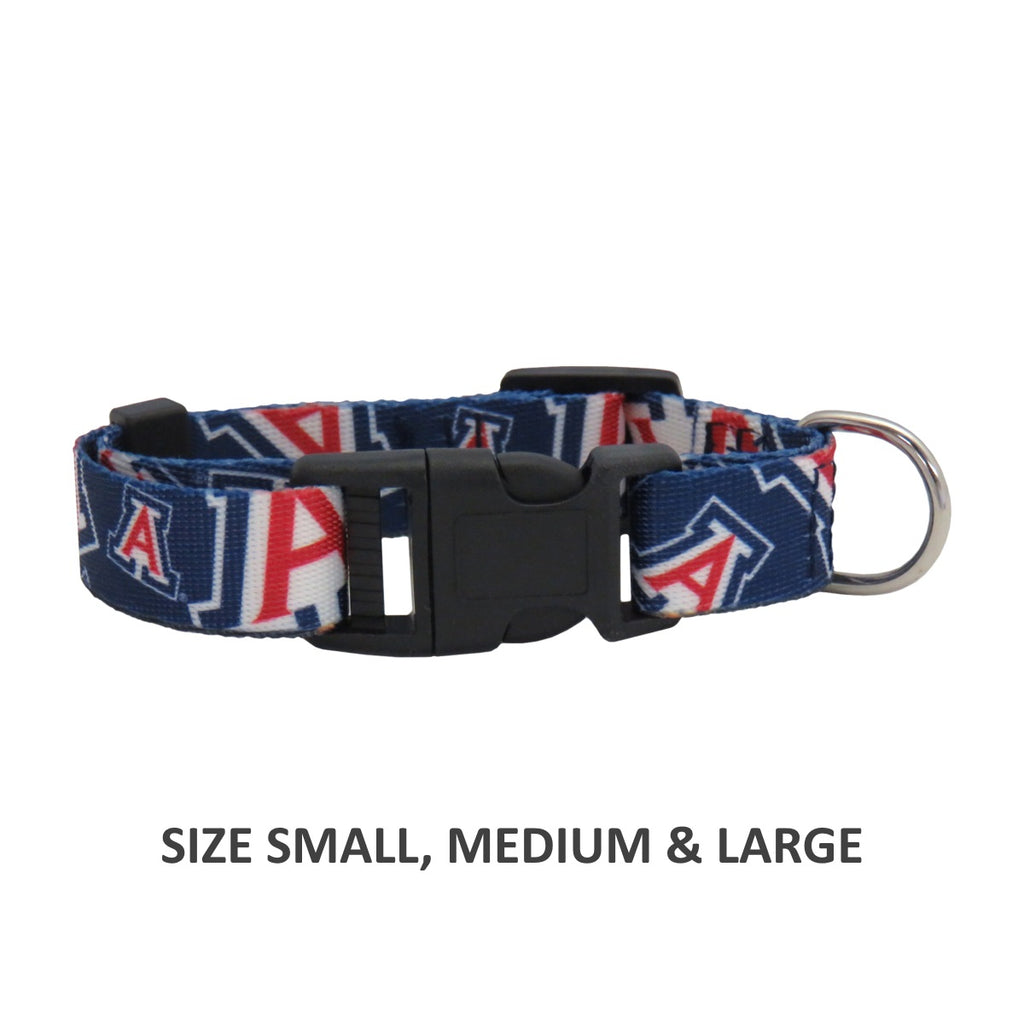 Arizona Wildcats Pet Dog Nylon Collar by Little Earth