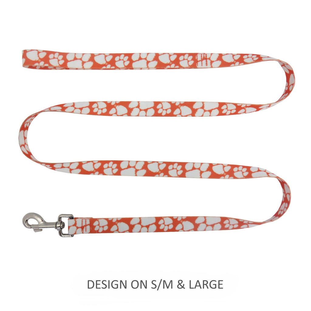Clemson Tigers Pet Dog Nylon Leash by Little Earth