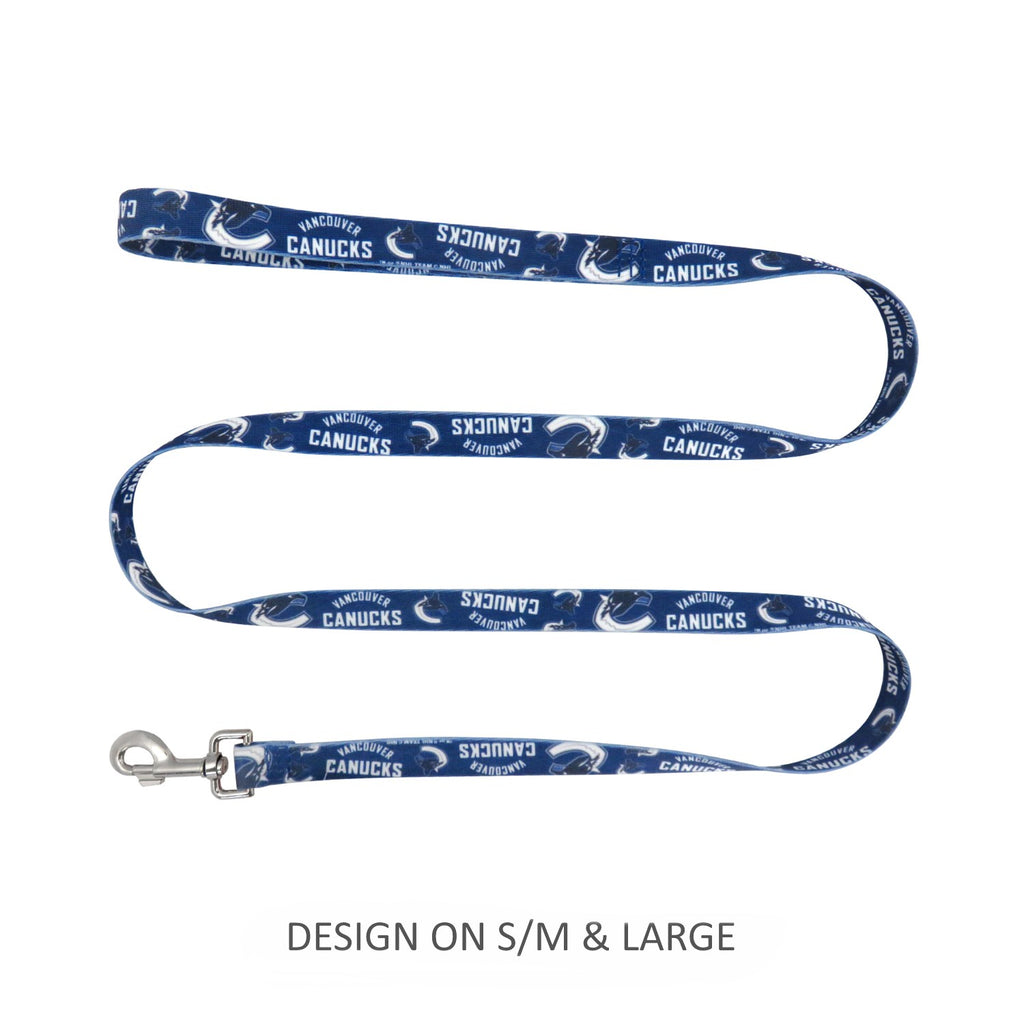 Vancouver Canucks Pet Dog Nylon Leash by Little Earth