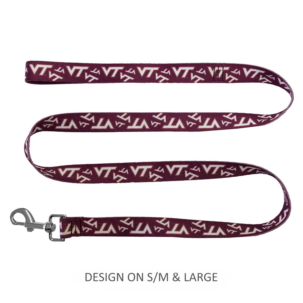 Virginia Tech Hokies Hokies Pet Dog Nylon Leash by Little Earth