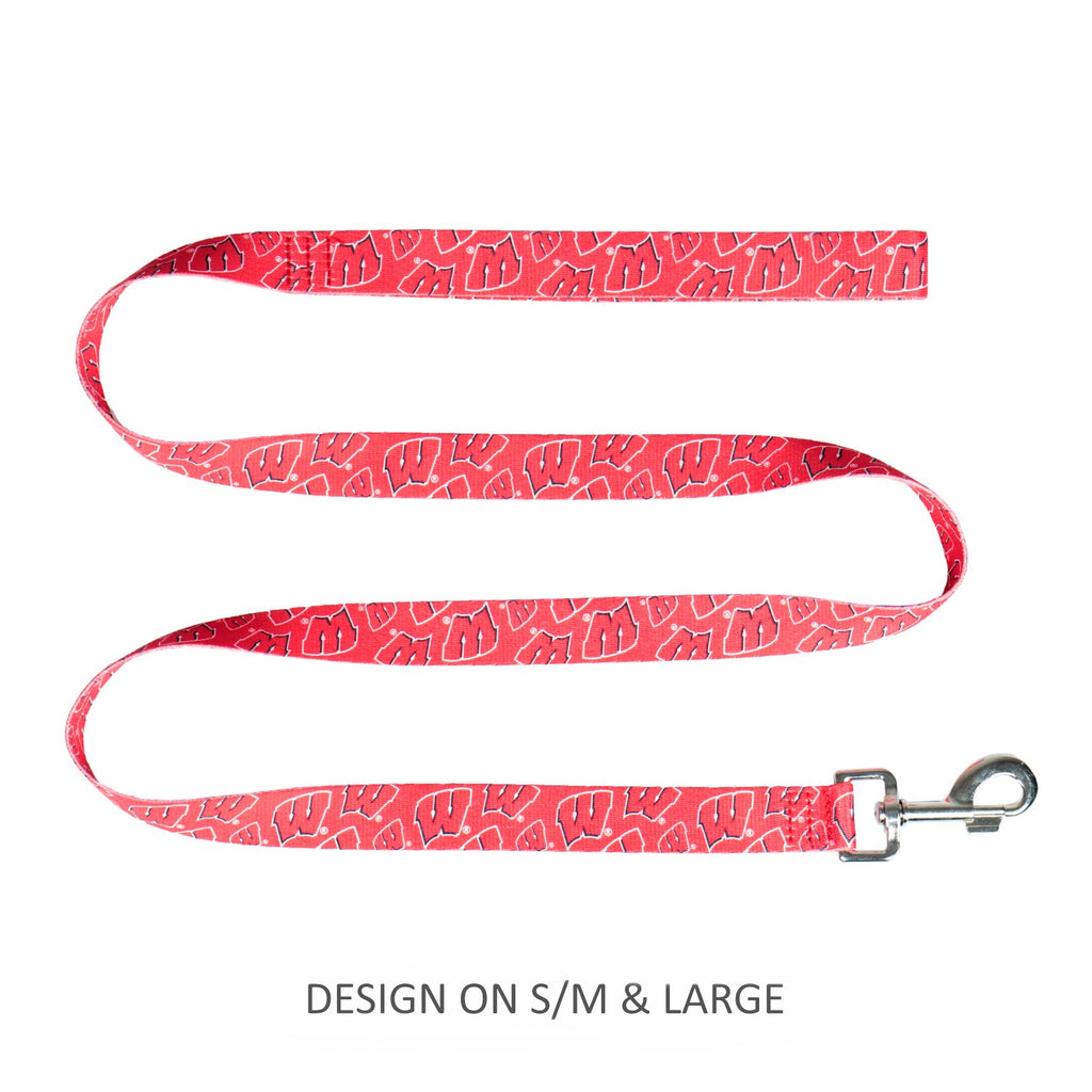 Wisconsin Badgers Pet Dog Nylon Leash by Little Earth