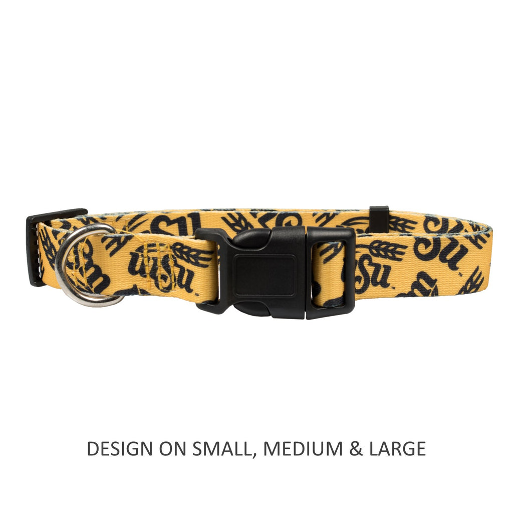 Wichita State Shockers Pet Dog Nylon Collar by Little Earth