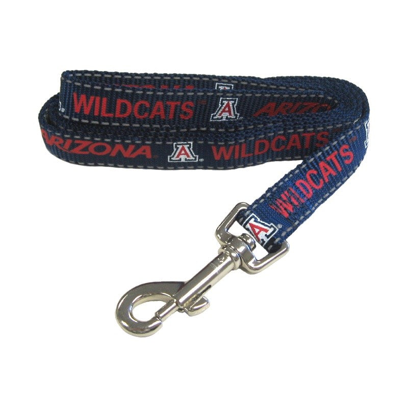 Arizona Wildcats Pet Dog Reflective Nylon Leash by Pet Goods Manufacturing