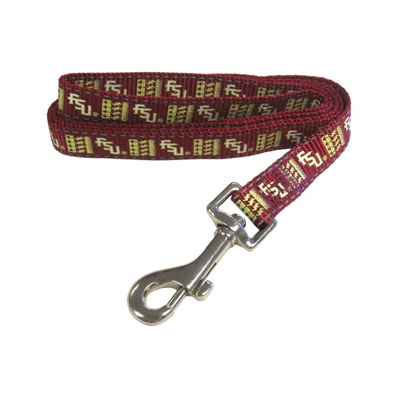 Florida State Seminoles Seminoles Pet Dog Reflective Nylon Leash by Pet Goods Manufacturing