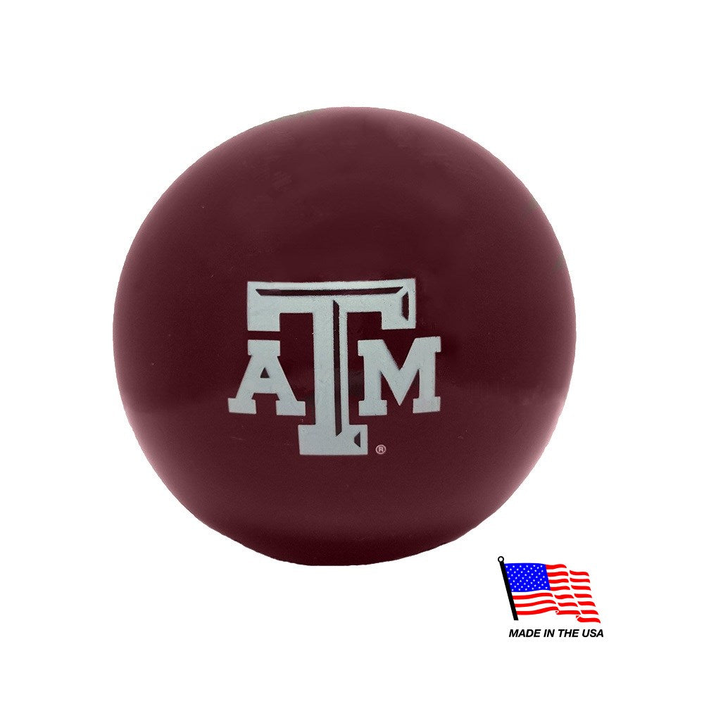 Texas A&M Aggies Ruff Ball Pet Dog Toy by Planet Dog
