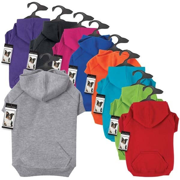 Zack & Zoey Basic Pet Dog Hoodie by Pet Edge