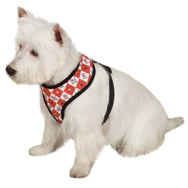Zack & Zoey Sweetheart Scottie Pet Dog Harness by Pet Edge